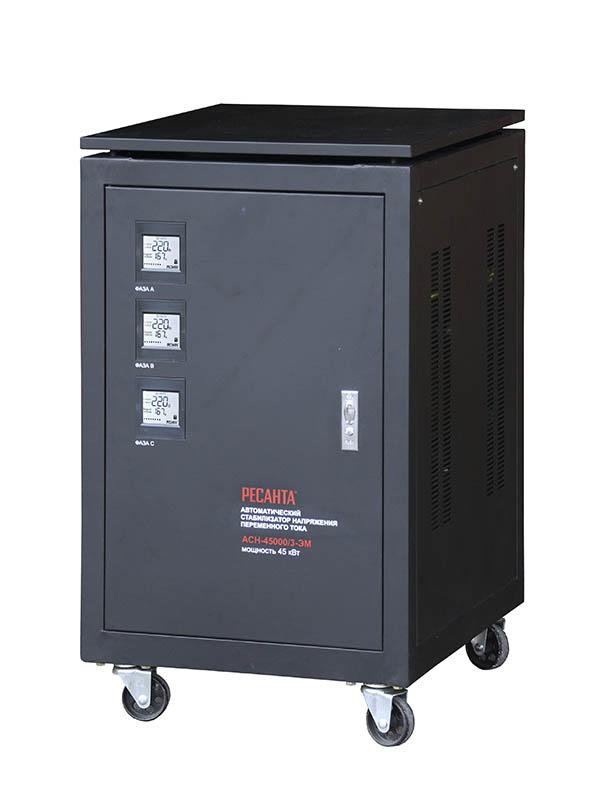 Стабилизатор трехфазный АСН-45000/3-ЭМ Ресанта
