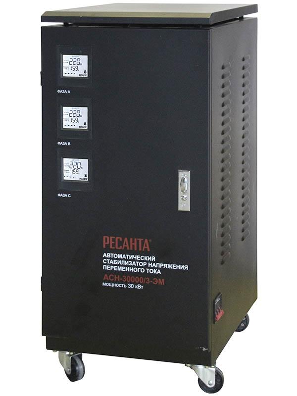 Стабилизатор трехфазный АСН-30000/3-ЭМ Ресанта