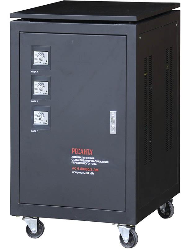 Стабилизатор трехфазный АСН-80000/3-ЭМ Ресанта